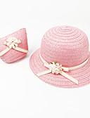 זול ילדים כובעים ומצחיות-מידה אחת ירוק בהיר / פוקסיה / חאקי כובעים ומצחיות אחיד / פרחוני פעיל / בסיסי / מתוק בנות ילדים / פעוטות