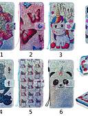 זול מגנים לאייפון-מארז iPhone xs / iPhone xs מקס תבנית / להעיף / עם לעמוד גוף מלא המקרים בעלי חיים / קריקטורה / פרח קשה עור pu עבור iPhone 6 / iPhone 6 פלוס / iPhone 6s