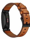 זול להקות Smartwatch-צפו בנד ל Fitbit השראה HR / Fitbit השראה פיטביט לולאה מעור / אבזם מודרני עור אמיתי רצועת יד לספורט
