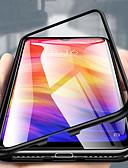 זול מגנים לטלפון-מגן עבור Xiaomi Xiaomi Redmi Note 5 Pro / Xiaomi Redmi Note 6 / הערה 7 שקוף כיסוי מלא אחיד קשיח מתכת