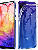 olcso Mobiltelefon tokok-ASLING Case Kompatibilitás Xiaomi Redmi 7. megjegyzés / Xiaomi Redmi 7 Ultra-vékeny / Átlátszó Fekete tok Átlátszó Puha TPU mert Xiaomi Redmi Note 7 / Xiaomi Redmi Note 7 Pro / Xiaomi Redmi 7
