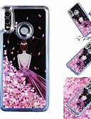 זול מגנים לטלפון-מגן עבור Huawei Huawei P20 / Huawei P20 Pro / Huawei P20 lite נוזל זורם / שקוף / תבנית כיסוי אחורי סקסי ליידי רך TPU
