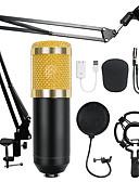 זול ז'קטים-bm-800 מעבה אודיו 3.5mm קווית אולפן מיקרופון הקלטה קולית ktv קריוקי מיקרופון להגדיר w w / לעמוד על המחשב