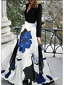hesapli NYE Elbiseleri-A-Şekilli V Yaka Süpürge / Fırça Kuyruk Polyester ile Resmi Akşam Elbise tarafından LAN TING Express