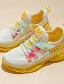 hesapli Kadın Etekleri-Genç Kız Flyknit Atletik Ayakkabılar Küçük Çocuklar (4-7ys) / Büyük Çocuklar (7 yaş +) Rahat Koşu / Yürüyüş Sarı / Pembe Bahar / Sonbahar