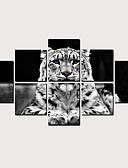 זול חליפות-דפוס הדפסי בד מגולגל - מופשט חיות קלסי מודרני הדפסים אמנותיים