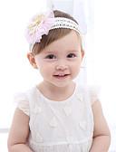 זול ילדים אביזרים לשיער-מידה אחת ורוד מסמיק / ירוק בהיר / פוקסיה אביזרי שיער כותנה / תחרה פפיון / פרח / מסוגנן אחיד / פרחוני פעיל / בסיסי / מתוק בנות פעוטות / עולל / תינוק
