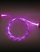 זול כבל & מטענים iPhone-הוביל כבל מגנטי מיקרו USB סוג C מטען מהיר לחייב כבל כבל הטלפון 1m