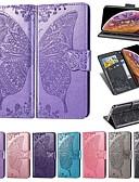 זול מגנים לאייפון-מארז iPhone XS / iPhone XS מקס / מגנטי / shockproof מלא גוף המקרים פרפר / מוצק צבעוני קשה pu עור עבור iPhone x / xs / 8 פלוס / iPhone 8/7 פלוס / iPhone 7 / iPhone 6s / 6s פלוס