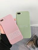 זול מגנים לאייפון-מארז עבור iPhone xr / iPhone xs מקורי כריכה אחורית כיסוי / מילה / מוצק צבע tpu רך עבור iPhone 6 / 6plus / 6s / 6splus / 7/8 / 7plus / 8plus / x / xs / xsmax / xr