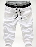 povoljno Muške duge i kratke hlače-Muškarci Osnovni Kratke hlače Hlače - Jednobojni Obala XXXL
