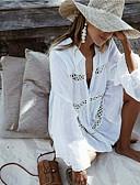 זול שמלות נשים-לבן S M L תחרה אחיד, בגדי ים כיסוי תחתונים לבן בסיסי בגדי ריקוד נשים