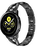 זול להקות Smartwatch-להקה לצפות עבור סמסונג גלקסי לצפות 46 / Samsung גלקסי צפה 42 סמסונג גלקסיה קלאסי אבזם מתכת פרק כף היד