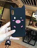 זול מגנים לאייפון-מארז עבור iPhone 6 / iPhone xs מקס תבנית חזרה כיסוי קריקטורה רכה סיליקה ג'ל עבור iPhone 6 / iPhone 6 פלוס / iPhone 6s