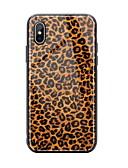 זול מגנים לאייפון-מגן עבור Apple iPhone XS / iPhone XR / iPhone XS Max מראה / תבנית כיסוי אחורי תבנית גאומטרית קשיח זכוכית משוריינת