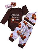זול לבנים סטים של ביגוד לתינוקות-סט של בגדים שרוול ארוך דפוס בנים תִינוֹק