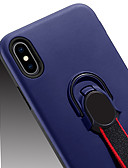 זול מגנים לטלפון-מגן עבור Samsung Galaxy A6 (2018) / Galaxy A7(2018) / A8 2018 עם מעמד / מחזיק טבעת כיסוי אחורי אחיד קשיח PC