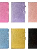 זול מגנים לטלפון-מגן עבור Samsung Galaxy Samsung Tab A 10.1 (2019) T510 מחזיק כרטיסים / עמיד בזעזועים / עם מעמד כיסוי מלא אחיד / זוהר ונוצץ קשיח עור PU