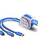 povoljno Kablovi i Punjač-3 u 1 višestruki adapter za punjenje s priključcima tipa micro-USB