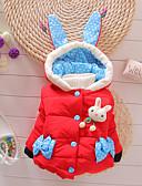 זול שמלות לתינוקות-חליפה ובלייזר דפוס דפוס בסיסי בנות תִינוֹק / פעוטות