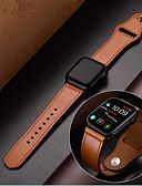 זול רצועת שעונים-עור אמיתי wristband wristband רצועת רצועת היד לצפות עבור Apple לצפות סדרה 1/2/3/4 38mm 40mm 42mm 44mm