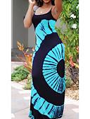 זול שמלות מקסי-מידי דפוס, גיאומטרי שבטי - שמלה צינור נדן בסיסי סגנון רחוב בגדי ריקוד נשים