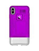 זול מגנים לאייפון-מגן עבור Apple iPhone XS / iPhone XR / iPhone XS Max עמיד בזעזועים כיסוי אחורי אחיד קשיח PC