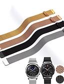 זול להקות Smartwatch-20mm 22mm הלהקה עבור סמסונג גלקסיה לצפות פעיל 42mm 46mm הילוך ספורט s2 s3 milanese לולאה עבור amazfit bip 18mm huawei watch1 רצועה
