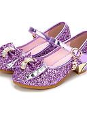 hesapli Elbiseler-Genç Kız Sentetikler Topuklular Çocuklar / Genç Çiçekçi Kız Ayakkabıları / Gençler için minik topuklar Fiyonk / Toka Gümüş / Mavi / Pembe Bahar / Sonbahar / Parti ve Gece / Kauçuk