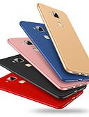 זול מגנים לאייפון-מגן עבור Huawei Huawei Mate 7 עמיד בזעזועים כיסוי אחורי אחיד רך ג'ל סיליקה