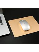 זול מחזיקים ומרכבים-אלומיניום מסגסוגת העכבר עם משטח ללא החלקה התחתונה העכבר העכבר