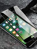 זול מגני מסך ל-iPhone-מגן מסך עבור iPhone 8 פלוס / 8/7 פלוס / 7 / 6s פלוס / 6s זכוכית מלאה מזג 1 מסך מול מסך מגן High Definition (HD) / 9h קשיות / הוכחה פיצוץ