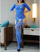 hesapli Seksi Organlar-Kadın's Etekler - Solid Örümcek Ağı Mor Fuşya Navy Mavi L XL XXL / Teddy / Takımlar / Sexy