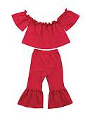 זול אוברולים טריים לתינוקות-סט של בגדים ללא שרוולים אחיד בנות תִינוֹק