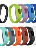 זול להקות Smartwatch-צפו בנד ל Vivofit 3 / Garmin vívofit jr Garmin רצועת ספורט סיליקוןריצה רצועת יד לספורט
