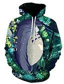 povoljno Džemperi i kardigani za dječake-Muškarci Osnovni Hoodie 3D / Lik