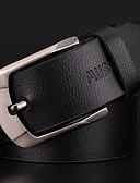 abordables Cinturones de hombres-Hombre Cinturón de Cintura - Básico Un Color