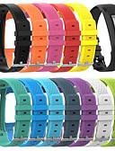 זול להקות Smartwatch-גודל גדול סיליקון פרק כף היד החלפת החלפת הלהקה עבור garmin vivofit 1/2