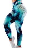 hesapli Erkek Tişörtleri ve Atletleri-Kadın's Yoga Pantolonları Spor Dalları Zıt Renkli Şort Koşma Fitness Spor Salonu Egzersizi Aktif Giyim Miękki Popo Kaldırma Karın Toparlayıcı Direnç Taytı İnce