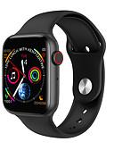 hesapli Akıllı Saatler-W34 ppg ekg akıllı İzle bluetooth çağrı 1.54 inç 2.5d ekran android apple telefonu için 380 mah pil spor smartwatch