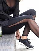 abordables Jupes-Femme Pantalon de yoga Des sports Couleur unie Leggings Course / Running Fitness Entraînement de gym Tenues de Sport Doux Butt Lift Contrôle du Ventre Power Flex Mince