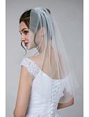 povoljno Vjenčani velovi-One-tier Clasic / Classic & Timeless Vjenčani velovi Shoulder Veils s Jedna boja Til
