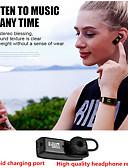 זול עור-y3 פלוס צמיד חכם עסקים Bluetooth אוזניות צמיד כושר הלב הדולר עבור ios אנדרואיד הלהקה הטלפון הנייד
