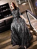 hesapli Gece Elbiseleri-A-Şekilli Kayık Yaka Yere Kadar Payetli Payet ile Resmi Akşam Elbise tarafından LAN TING Express