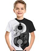 povoljno Majice za dječake-Djeca Dijete koje je tek prohodalo Dječaci Aktivan Osnovni Geometrijski oblici Print Color block Print Kratkih rukava Majica s kratkim rukavima Obala