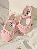 povoljno Haljine za djevojčice-Djevojčice Obuća za male djeveruše PU Ravne cipele Mala djeca (4-7s) Crn / Crvena / Pink Ljeto