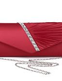 זול תחתוני נשים-בגדי ריקוד נשים פּוֹלִיאֶסטֶר תיק ערב צבע אחיד שחור / לבן / סגול