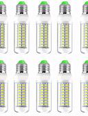 hesapli Erkek Ceketleri ve Kabanları-10pcs 13 W LED Mısır Işıklar 1300 lm E14 GU10 B22 T 89 LED Boncuklar SMD 5730 Yeni Dizayn Sıcak Beyaz Beyaz 220-240 V 110-120 V