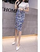 זול חצאיות לנשים-פרחוני - חצאיות צינור בגדי ריקוד נשים פול S M L