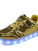 povoljno Bluza-Dječaci PU Sneakers Velika djeca (7 godina +) Svjetleće tenisice Šljokice / LED Zlato / Pink / Srebro Jesen / Zima